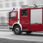 Firetruck on rush