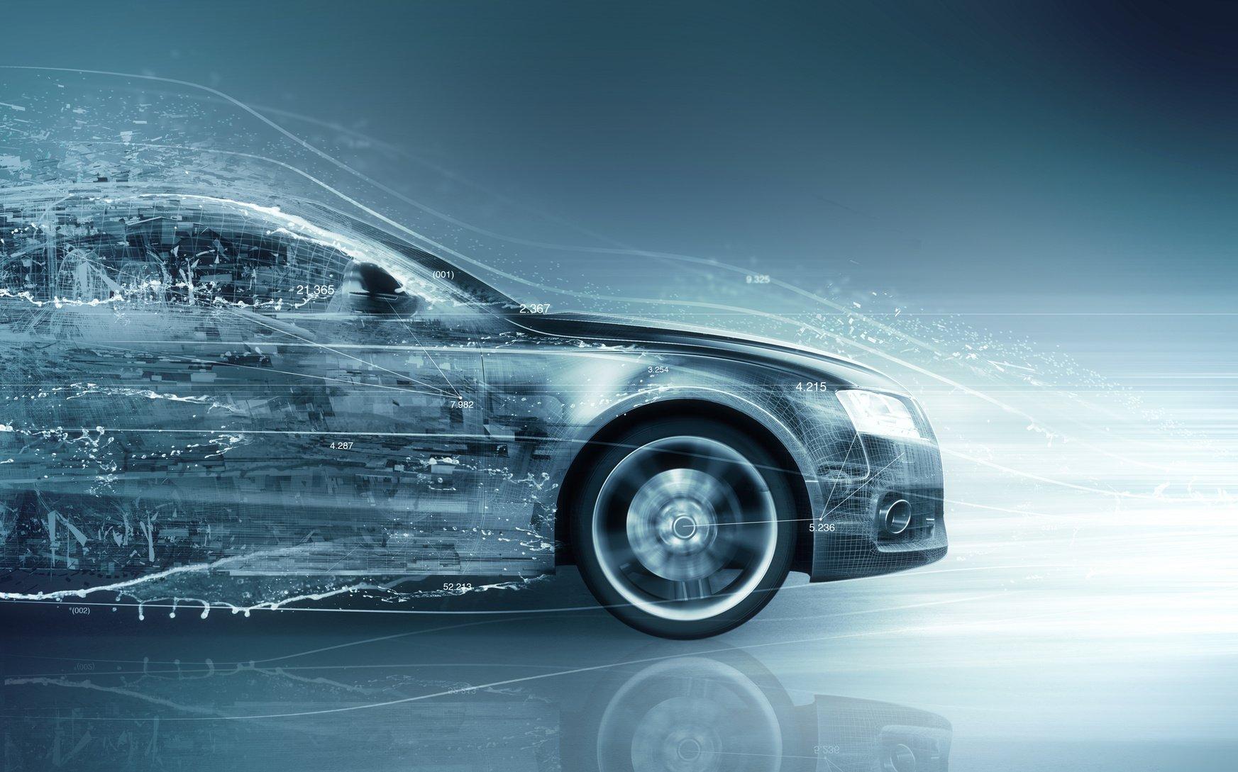 car abstract concept